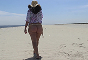 Watch video Jackie Is WildFlower On Nude Beach