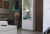 Watch video High Heels & Thong Room Service (Ruby)