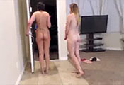 Watch video $150 – Happy To Have 2 Naked Chics