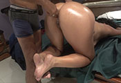 Watch video Massage and Ass Fingered from Security Guy (Xiomara)