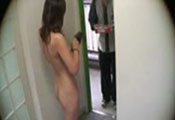 Watch video Nao naked at door 2